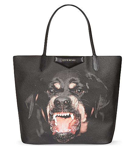 GIVENCHY Antigona Rottweiler coated-canvas tote (Rottweiler
