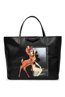 GIVENCHY Antigona large Bambi-print leather shopper