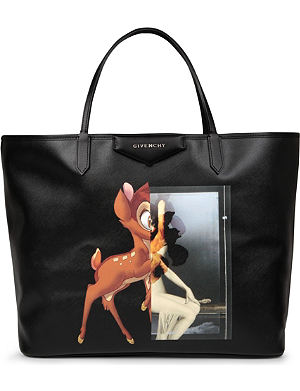 GIVENCHY Antigona Bambi large coated-canvas shopper