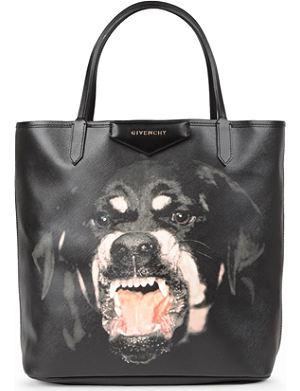 GIVENCHY Antigona rottweiler-print shopper