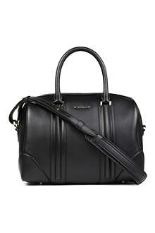GIVENCHY Lucrezia Sandy medium leather bowling bag