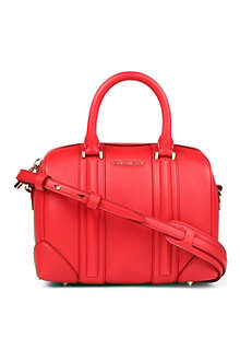 GIVENCHY Lucrezia Sandy small leather bowling bag