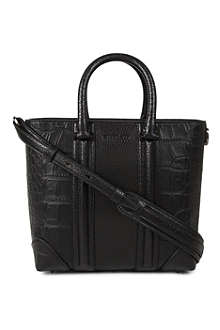 GIVENCHY Lucrezia small animal-embossed leather tote