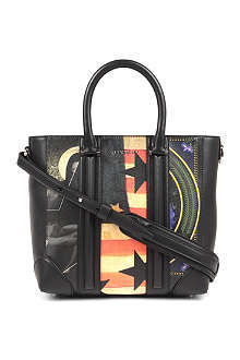 GIVENCHY Lucrezia mini printed leather tote