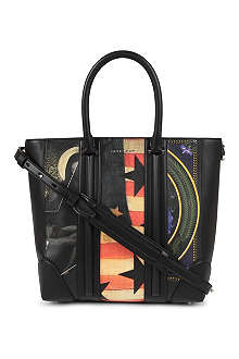 GIVENCHY Lucrezia medium grainy leather tote