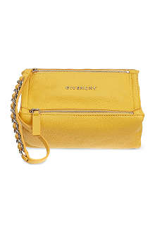 GIVENCHY Pandora sugar leather wrist pouch