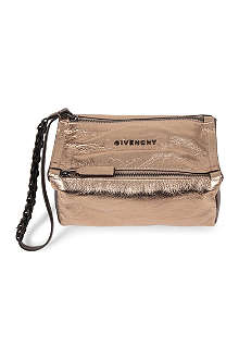 GIVENCHY Pandora grainy leather pouch