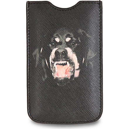 GIVENCHY Rottweiler iPhone 4 case (Multi