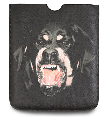 GIVENCHY Rottweiler iPad case (Multi