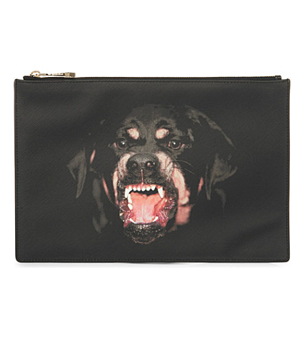 GIVENCHY Rottweiler medium pouch (Multi