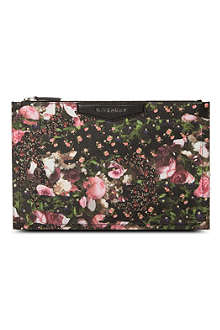 GIVENCHY Antigona medium floral pouch