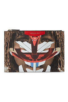 GIVENCHY Medium Antigona tribal girl pouch