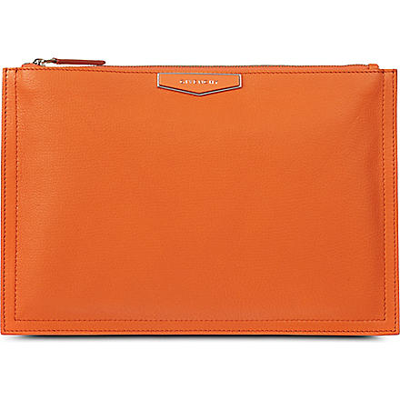 GIVENCHY Antigona medium sugar pouch (Orange