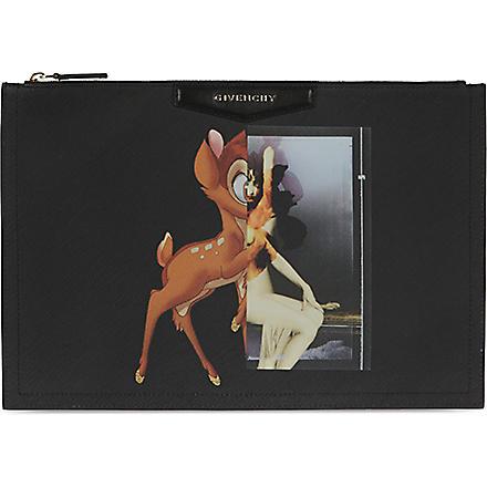 GIVENCHY Antigona Bambi large pouch (Multi