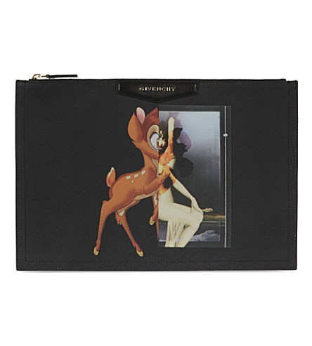 GIVENCHY Antigona Bambi large coated-canvas pouch (Multi