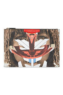 GIVENCHY Large Antigona tribal girl pouch