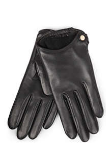 GIVENCHY Nappa leather cut-away gloves