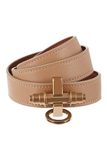 GIVENCHY Three-row Obsedia calfskin bracelet