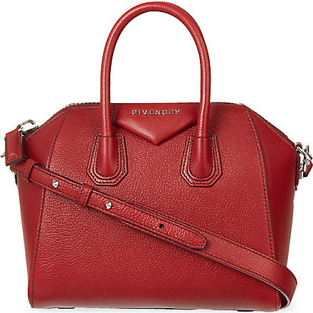 GIVENCHY Antigona mini tote (Wine