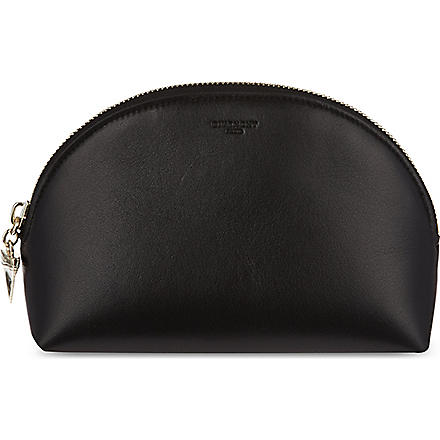 GIVENCHY Shark nappa leather pouch (Black