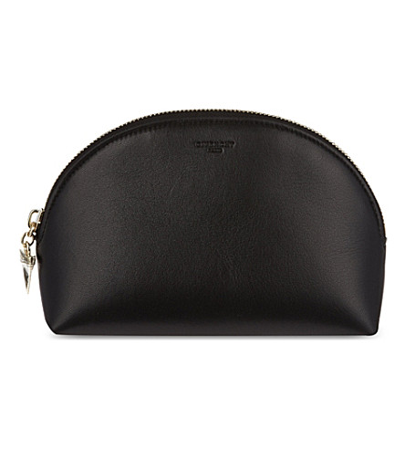GIVENCHY Shark nappa-leather pouch (Black