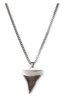 GIVENCHY Sharktooth large pendant necklace