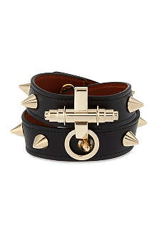 GIVENCHY Obsedia studded leather bracelet