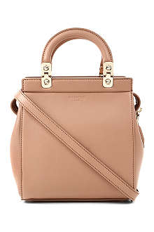 GIVENCHY Mini matte leather tote