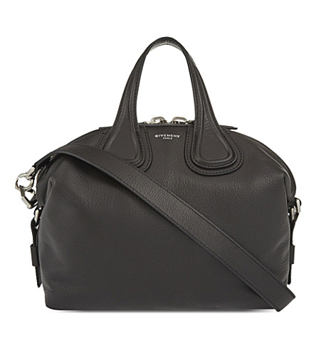 GIVENCHY Nightingale small leather shoulder bag (Black