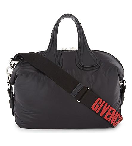 GIVENCHY Nightingale leather shoulder bag (Black