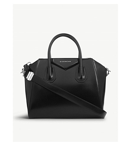 GIVENCHY Antigona small leather tote (Black