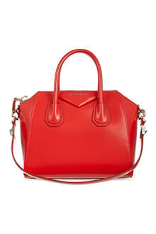 GIVENCHY Small Antigona smooth leather tote