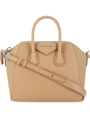 GIVENCHY Antigona mini soft-grain leather tote