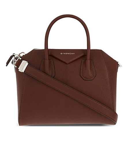 GIVENCHY Antigona Sugar small leather tote (Brown
