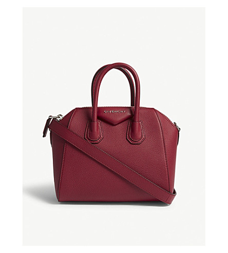 ... GIVENCHY Antigona mini sugar leather tote (Fig+pink. PreviousNext 4c6b522914c61