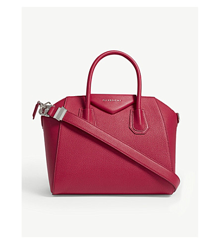 GIVENCHY Antigona grained leather tote bag (Fuschia