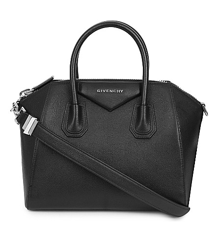 ... GIVENCHY Antigona sugar leather tote (Black. PreviousNext