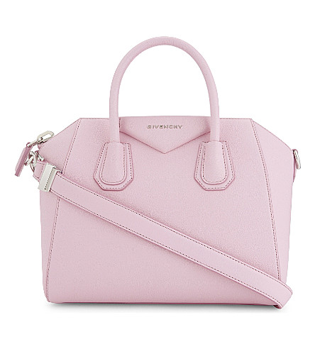 GIVENCHY Antigona sugar leather tote (Pastel pink