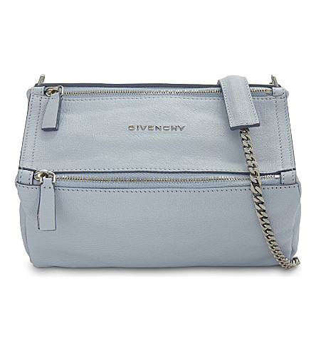 GIVENCHY Pandora Sugar mini leather shoulder bag (Baby+blue