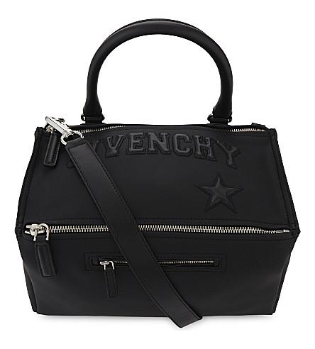 GIVENCHY Pandora leather shoulder bag (Black