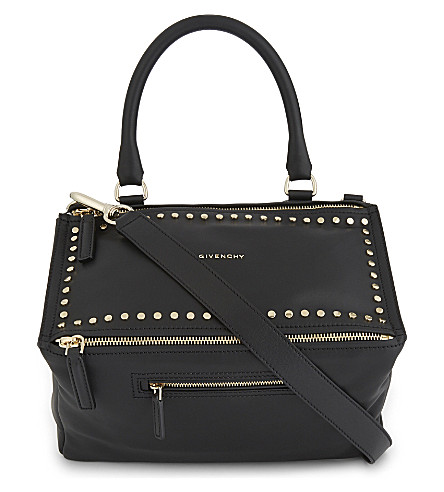 GIVENCHY Pandora studded medium shoulder bag (Black