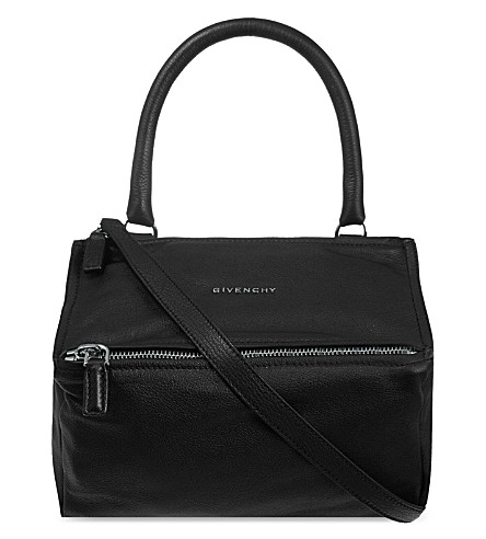 GIVENCHY Pandora Sugar leather shoulder bag (Black