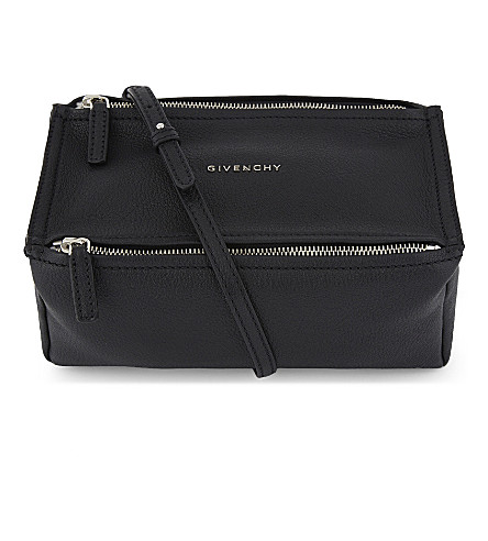 GIVENCHY Pandora leather cross-body bag (Black