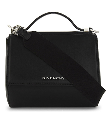 GIVENCHY Pandora leather shoulder bag (Black