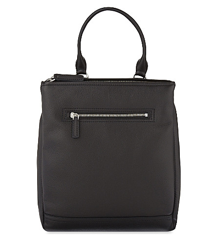 GIVENCHY Pandora leather back pack (Black