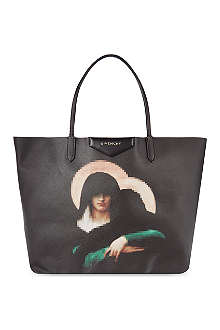 GIVENCHY Anigona Madonna medium leather shopper bag