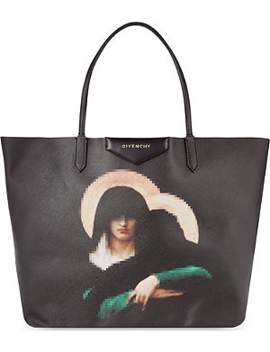 GIVENCHY Antigona Madonna medium coated-canvas shopper