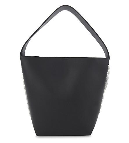GIVENCHY Infinity large leather bucket bag (Black