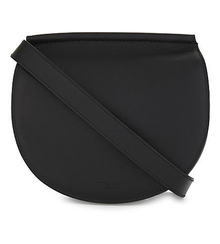 GIVENCHY Infinity mini leather saddle bag (Black