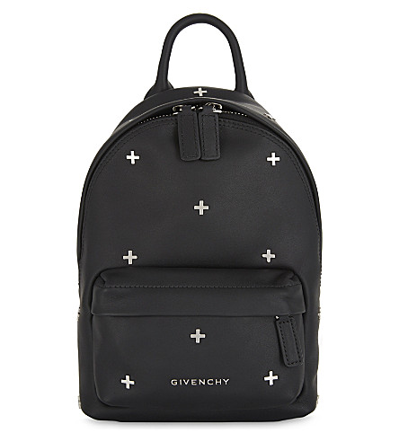 GIVENCHY Cross nano leather backpack (Black